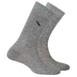 Lot de 2 paires de chaussettes en fil d'écosse traitement anti odeur