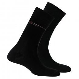 Lot de 2 paires de chaussettes en coton anti odeur fabrication française