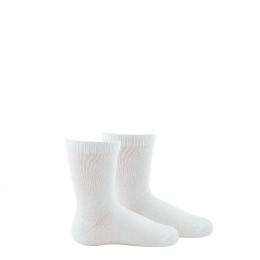Lot de 2 paires de chaussettes unies en coton biologique