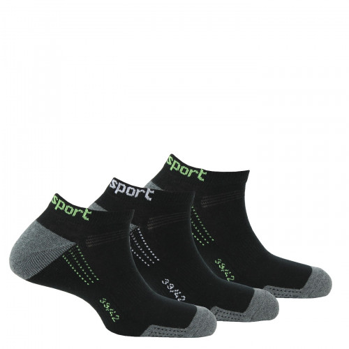 Lot de 3 paires d'invisibles Sport Fashion