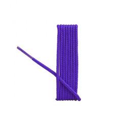 Lacets ronds violet 90cm