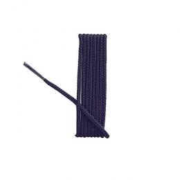 Lacets ronds bleu-marine 75cm